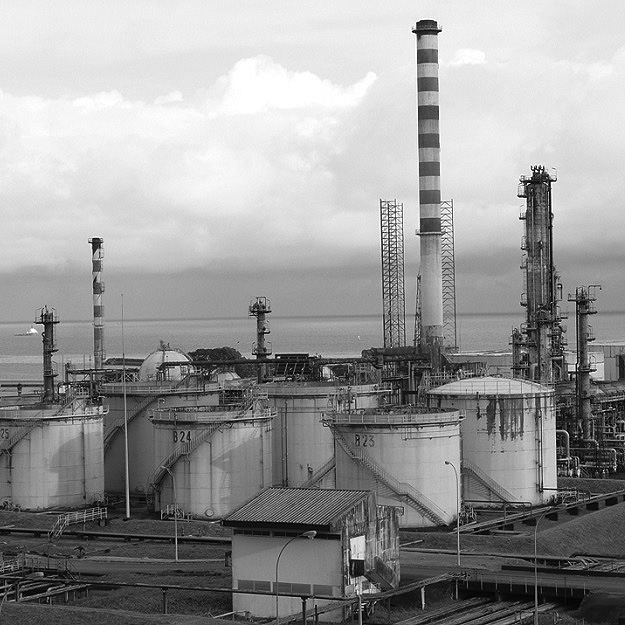 Oil refinery in South Africa